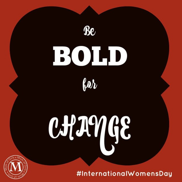 Its InternationalWomensDay! BeBoldForChange