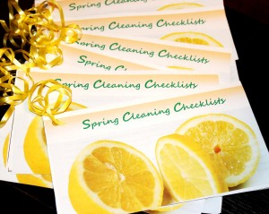 Spring Cleaning Guide printable