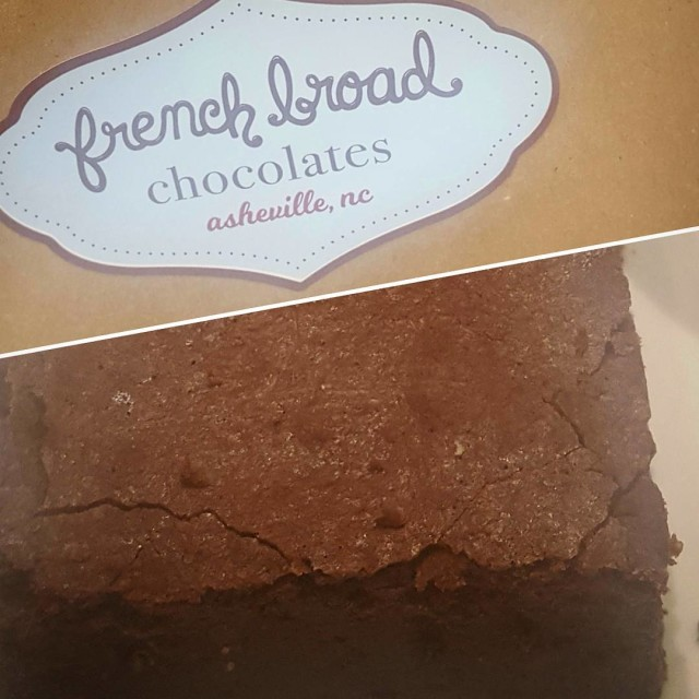 This brownie was SUPER rich! chocoholic