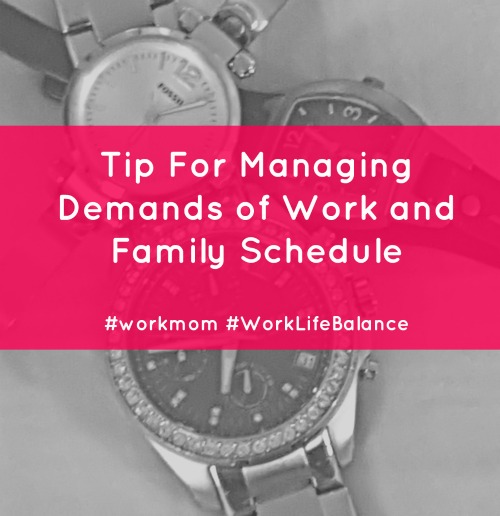 howtomanageworkandfamilyschedule