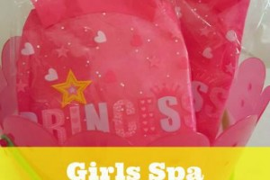 Girls Spa Birthday party goodie bag