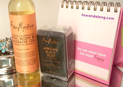 shea moisture black soap and body oil review