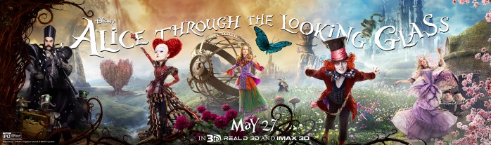 Alice Through the Looking Glass image courtesy of Disney